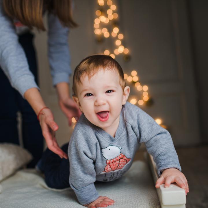 Коледна семейна фотосесия